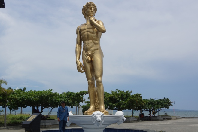Statue of David - Davao city, Philippines
